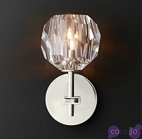 Бра RH Boule de Cristal Single Sconce Chrome