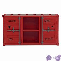 ТВ тумба Loft TV container Red