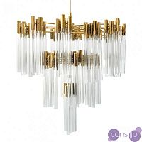 Люстра Contemporary chandelier crystal brass