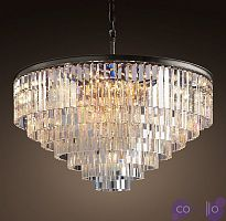 Люстра RH 1920s Odeon Clear Glass Fringe Chandelier - 80, 110