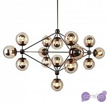 Люстра Modo Chandelier 15 Globes designed by Jason Miller